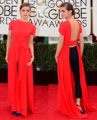 Emma Watson red