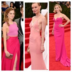 met gala 2014 pink dresses
