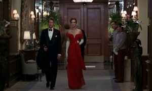 pretty women red dress