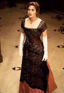 rose dress titanic