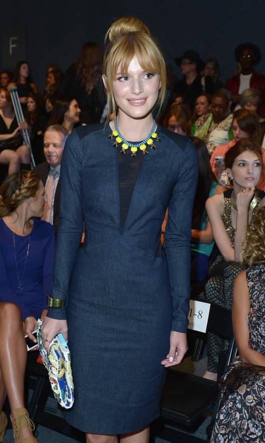 Nicole Miller - Front Row - Mercedes-Benz Fashion Week Spring 2014