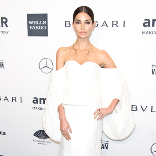 Lily-Aldridge-2014-amfAR-Gala-Video