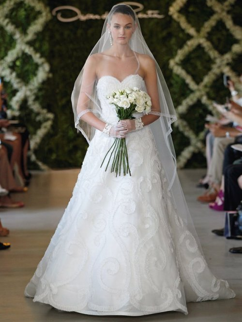 oscar de la renta wedding