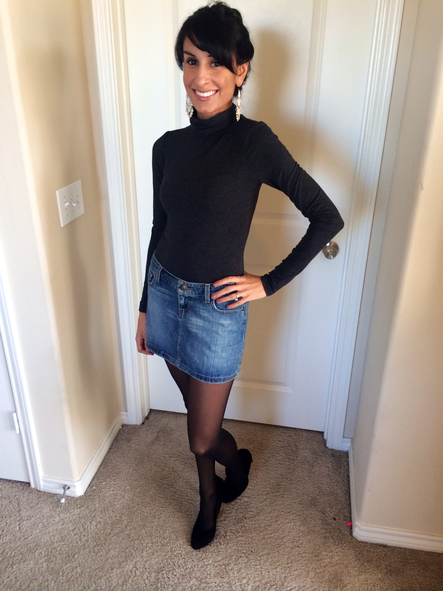 turtle neck fall style
