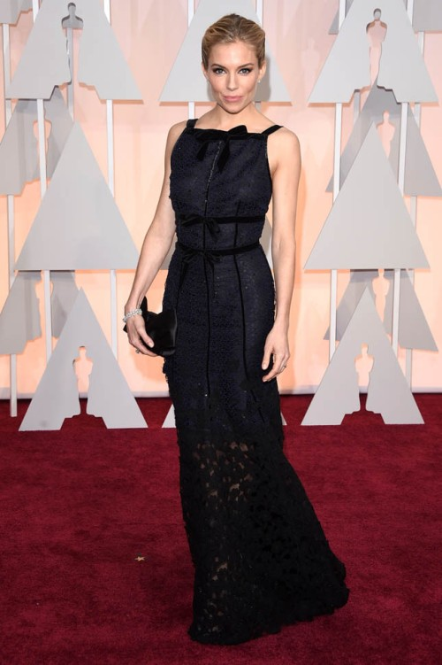 sienna miller oscar dress