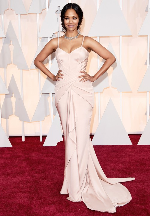 zoe oscars best dressed